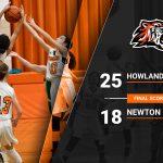 7th Girls Defeat Newton Falls