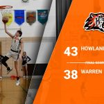 8th Boys Win Over Warren