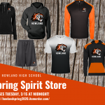 Howland Spring Gear Is Now Available