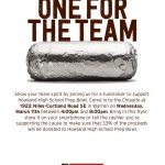 Chipotle Fundraiser for Prep Bowl