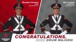 Congratulations 2018 Howland Alum Brayden Deemer: OSU Head Drum Major!