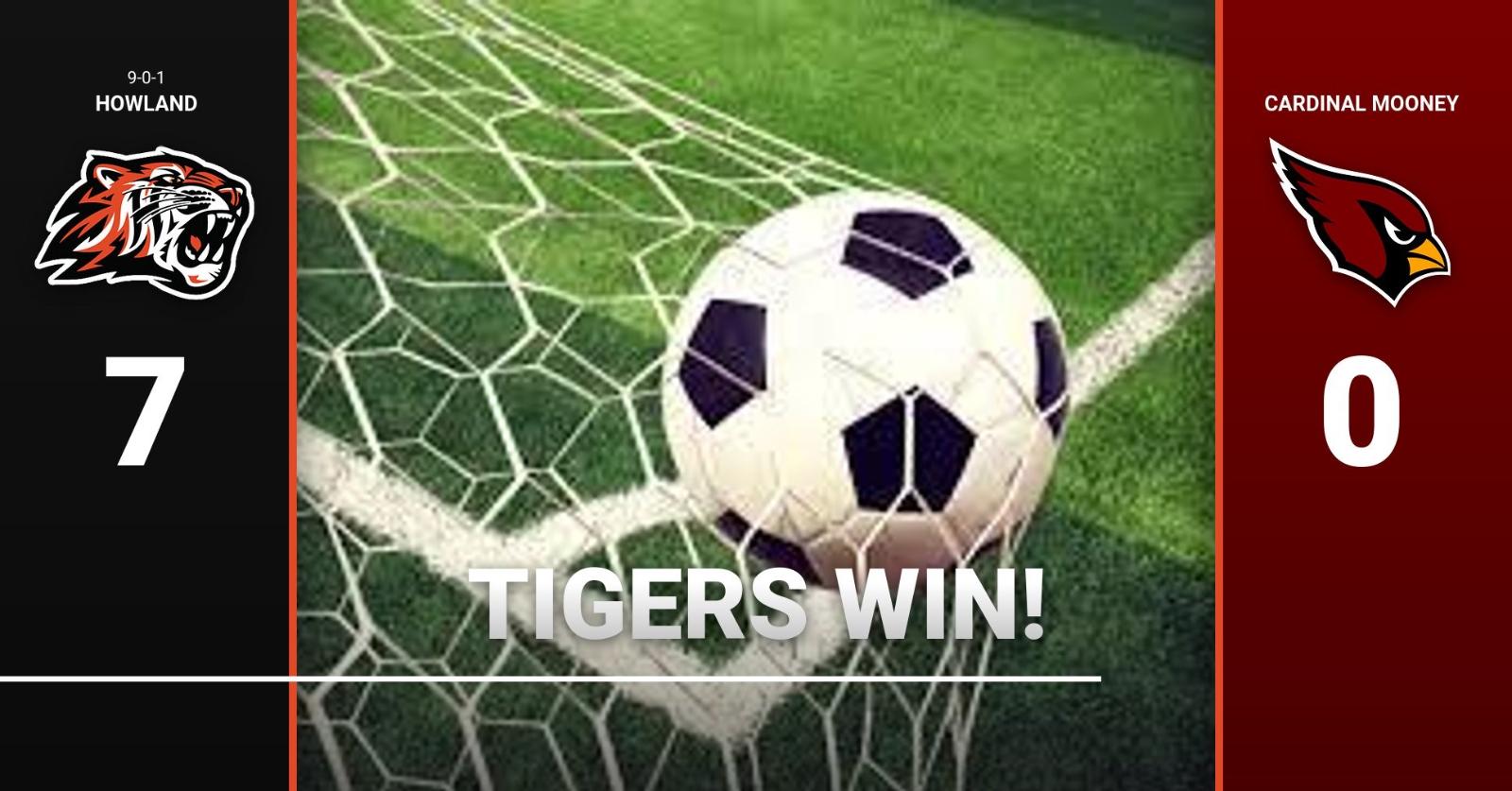 Boys Soccer defeats Mooney 7-0