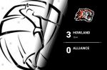 Volleyball Records 10th win, defeats Alliance 3-0