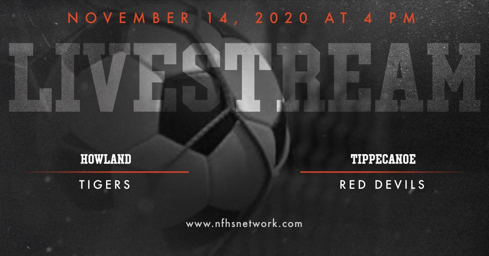 LIVESTREAM: Boys Soccer State Championship Game, 11/14/2020 4 pm