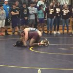 Varsity Wrestlers Win Two
