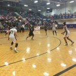 Jones County High School Girls Varsity Basketball falls to Spalding High School 51-58