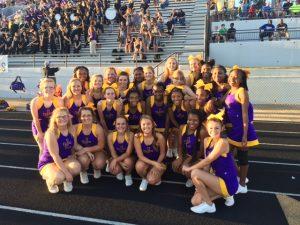 Football Cheerleading 2015