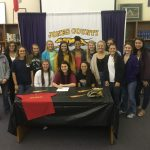 Kaylee Skinner Signs Softball Scholarship