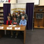 Brooks Veal Signs Baseball Scholarship