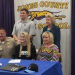 Mosteller Signs Softball Scholarship