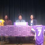 Johnson Signs Football Scholarship