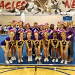 Jones County High School Coed Varsity Competitive Cheer finishes 1st place