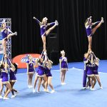Jones County High School Coed Varsity Competitive Cheer finishes 9th place