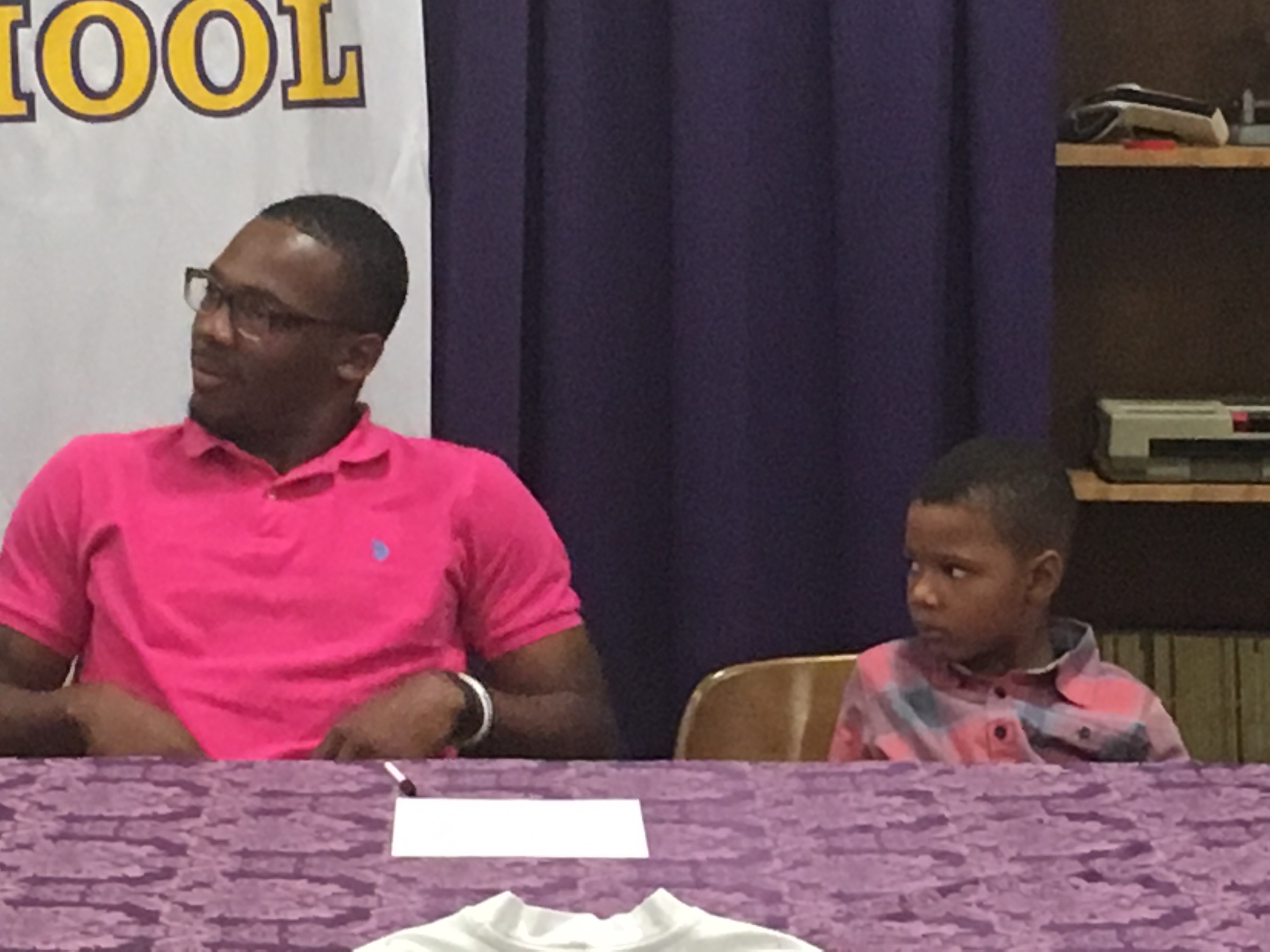 Veal Signs Football Scholarship