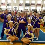 Coed Varsity Competitive Cheer finishes 3rd place at Whitewater High School