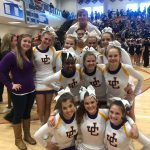 Varsity Competition Cheer Advances to STATE!