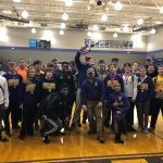 Wrestling Takes 2nd Place