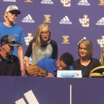 Brandin Johnson Signs Baseball Scholarship