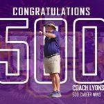 Blake Lyons Wins #500