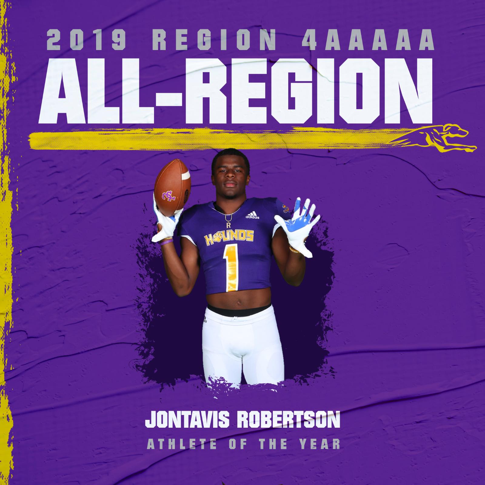 Football Athletes Named to 2019 All-Region Team