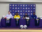 Greyhounds Sign Football Scholarships