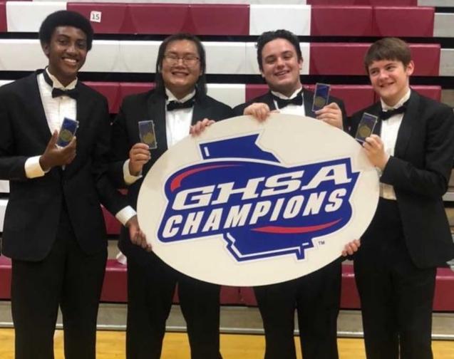 Boys Quartet Wins State