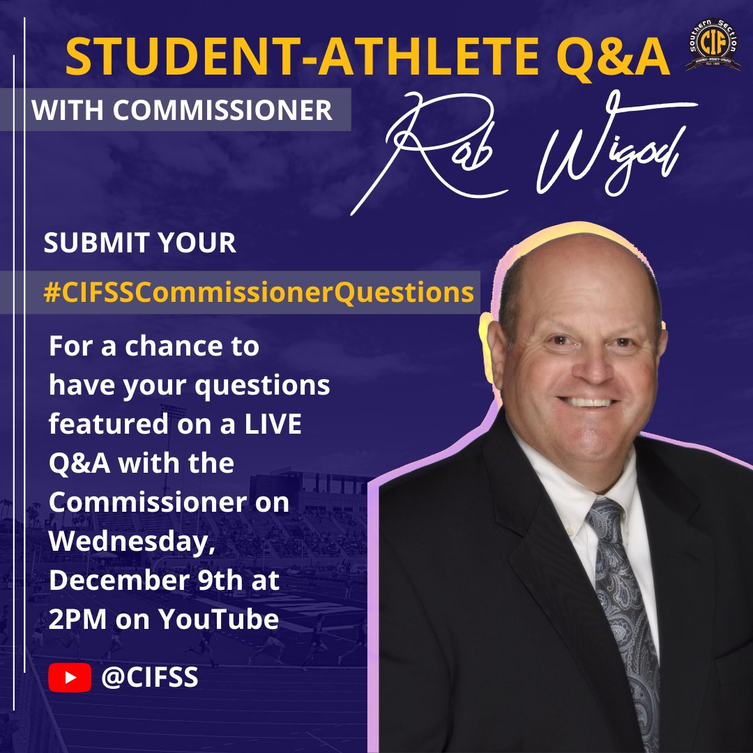Questions with the Commissioner