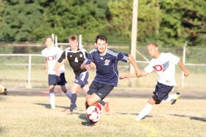Boys Alumni Soccer Game