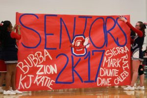 2017 Boys Basketball Senior Night