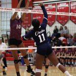 Girls Varsity Volleyball beats Wellington 3 – 2