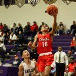 Boys Varsity Basketball beats Keystone High/Middle School 74 – 58