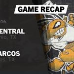 Football Week One:Recap vs San Marcos