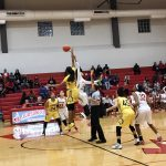 East Central High School Girls Varsity Basketball falls to Judson High School 39-36