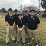 East Central High School Boys Varsity Golf ties Claudia Taylor 'lady Bird' Johnson High School 1-1