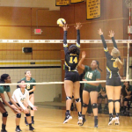 East Central High School Girls Varsity Volleyball beat Judson High School 3-1