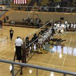 East Central High School Girls Varsity Volleyball beat Steele 3-2