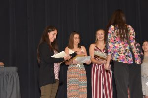 2017 Fall Sports Awards Ceremony
