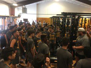 2018 Freshmen Football Preseason Practice
