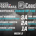 Hubbard Named DC Texas Football Magazine – Inspirational Coach of the Week