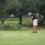 Boys Golf Battles At Smithson Valley Stampede at River Crossing