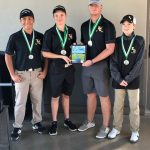 Hornet Golf Takes First Place
