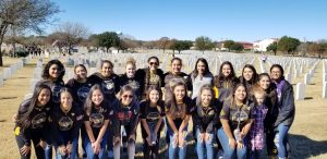 Softball Participates In 4 The Heroes Foundation and Wreaths Across America