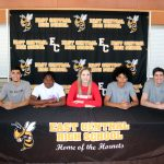 Hornet Athletes Sign Letters Of Intent To Play At Next Level