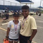 JV Tennis Wins District Championship