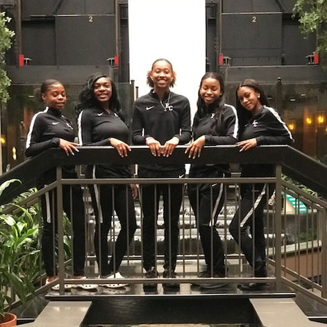Lady Hornet Track Competes At State Meet in Austin