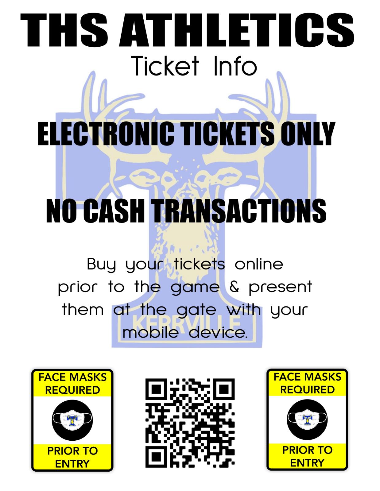JV Football Ticketing Information