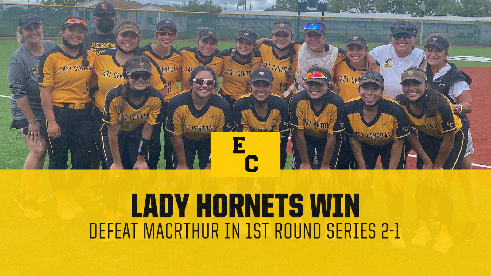 Lady Hornet Softball Persists Through the Weather to Clench Bi-District Championship