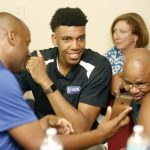 Bartow's Tony Bradley selected 28th in NBA Draft