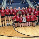Tippecanoe High School Girls Varsity Volleyball falls to Bishop Fenwick High School 3-1