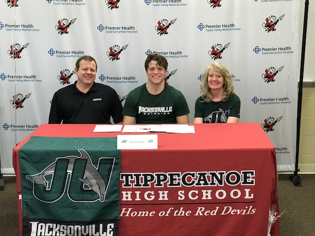 Matthew Garber Signed With Jacksonville For Football
